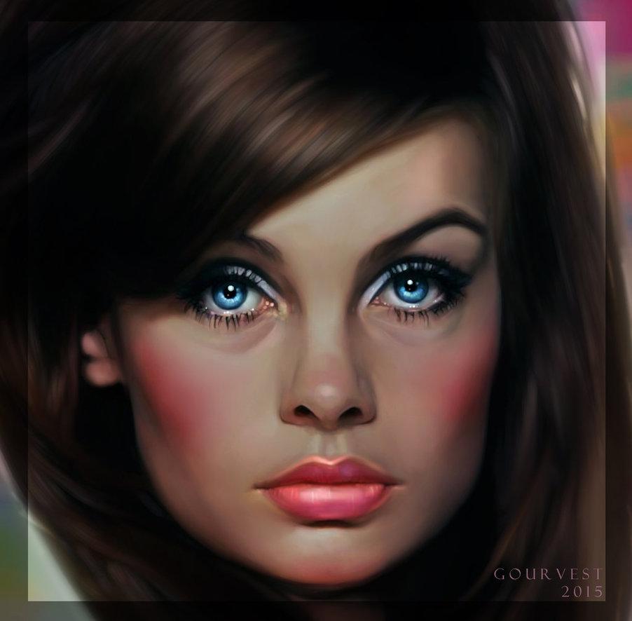 Jean Shrimpton by polyarny